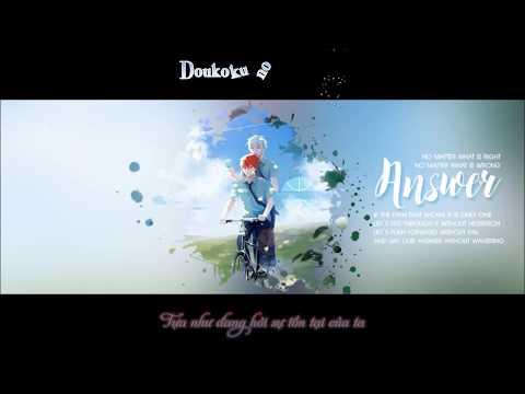 [Kuroko no Basket] [Vietsub Character Song] ANSWER - Akashi Seijuuro ft. Kuroko Tetsuya