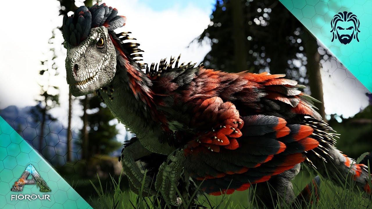 I Accidentally Entered Deinonychus Nesting Grounds! - ARK Fjördur [E6]
