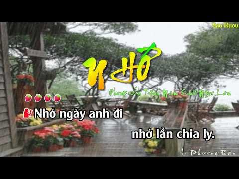 Karaoke Nhớ (song ca)