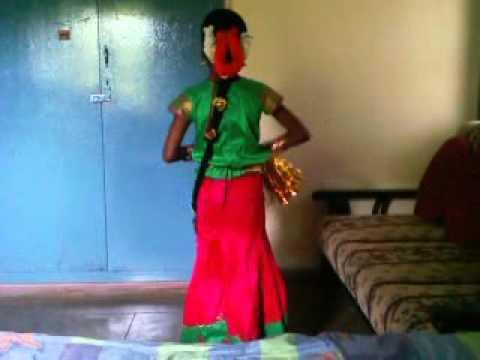 My sister dancing for Kummi Adi
