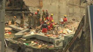 En Ciudad de México una jornada laboral rutinaria destruida por el sismo