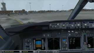 Jet Airways RNP Approach into Kathmandu, Nepal in the iFly 737NG (FSX)