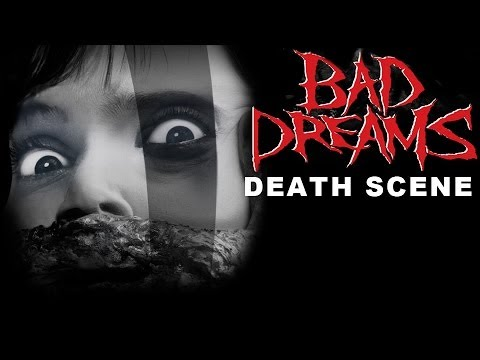 woman falls to her death bad dreams 1988 youtube