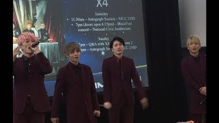 This Is X4's Opening Performance at Stage Zero, Fanime In San Jose,...
