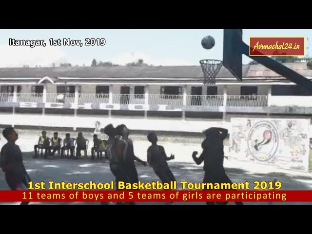 1st Interschool Basketball Tournament 2019 begins