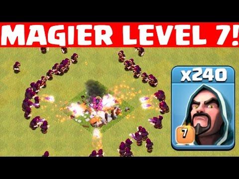 MAGIER LEVEL 7! || CLASH OF CLANS || Let's Play Coc [Deutsch/German HD+]