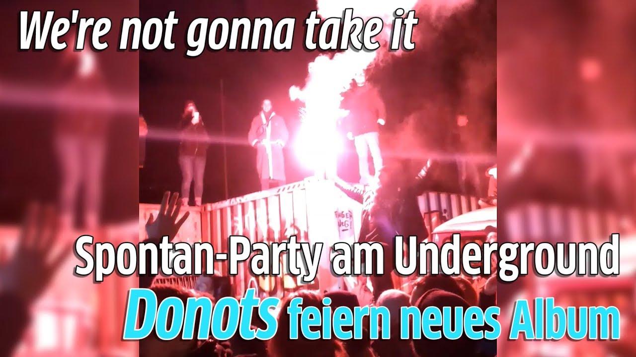 Köln: Donots feiern am Underground in Ehrenfeld neue Platte \