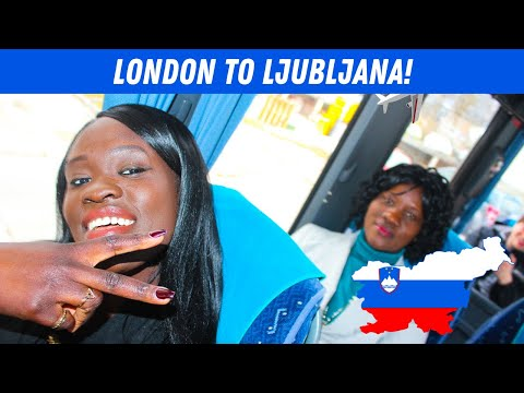 EP #61 | LONDON TO LJUBLJANA! - SLOVENIA // TRAVEL VLOG