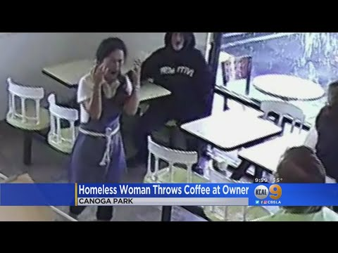 Homeless Woman Throws Hot Coffee At Donut Shop Owner from YouTube · Duration:  2 minutes 9 seconds