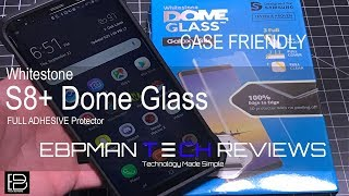 The Best Screen Protector for the Samsung Galaxy S8+ from Whitestone