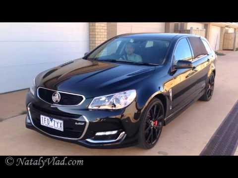 Holden Commodore VFII SSV Redline Sportwagon Test dirve  YouTube