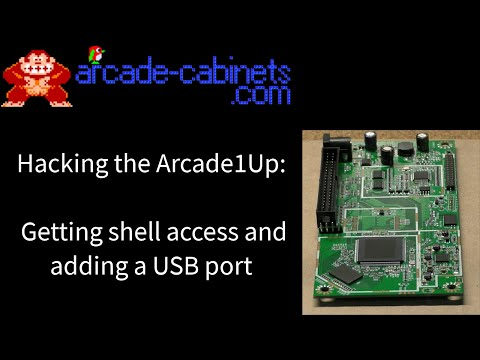arcade ROMHacking the arcade1up Atari asteroids PCB hacking lesson from arcade-cabinets.com