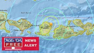 Another 6.9 Earthquake Hits Lombok, Indonesia - LIVE COVERAGE