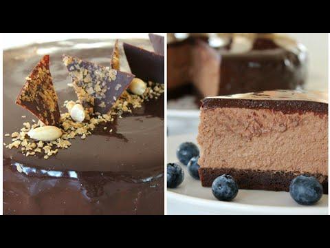 Торт, который подарит вам настроение!❤️Теперь это мой любимый ДЕСЕРТ! Шоколадный торт с муссом.