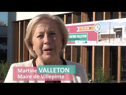 Inauguration du Centre Nelson-Mandela de Villepinte