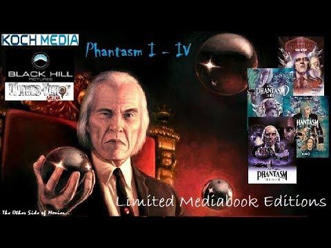 Phantasm I - IV I Limited Mediabook Editions I Black Hill Koch Media & Wicked Vision