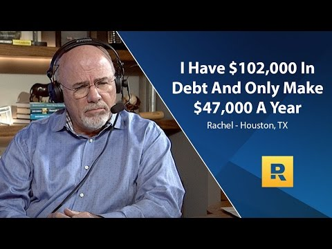 I Have $102,000 In Debt And Only Make $47,000 A Year