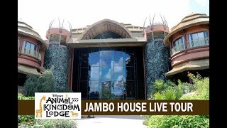 Disney's Animal Kingdom Lodge Jambo House Pool Construction Update Full Live Tour