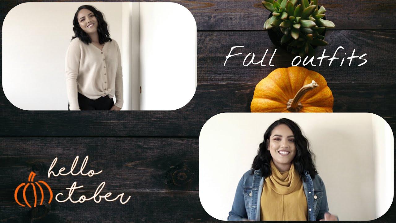 [VIDEO] - Fall Outfits || thick mom fashion || MARIAN VILLANUEVA 1