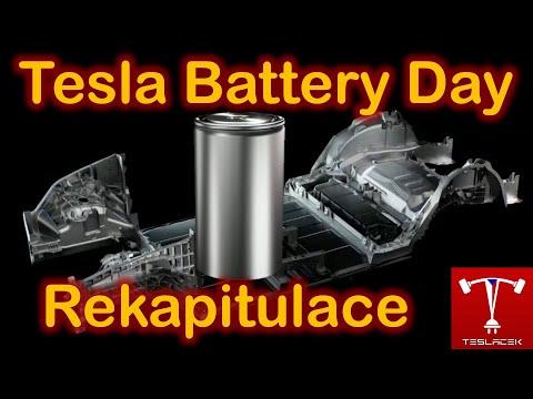 #222 Tesla #BatteryDay Rekapitulace | Teslacek