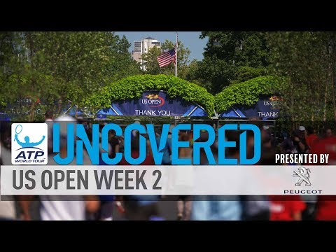Scene Set For Week 2 US Open Uncovered 2017