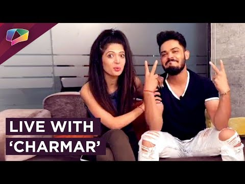 Catch India Forums go live with youth sensations Kunwar Amarjeet Singh and Charlie Chauhan