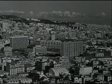 Alger ville moderne 1958 youtube for Aquafortland alger piscine