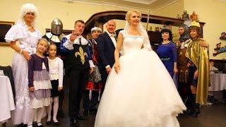 Красивая свадьба в королевском стиле (Золушка)