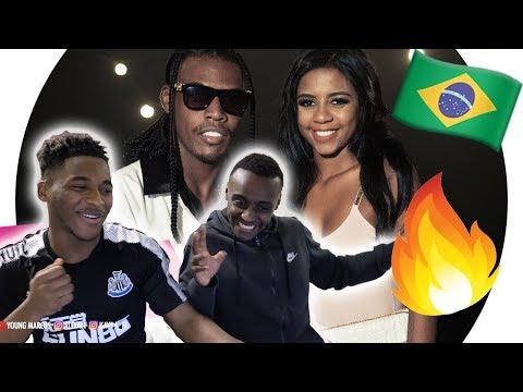 Gringos Reagem a MC Kekel e MC Rita - Amor de Verdade KondZilla - Young Marcus X Black Reaction