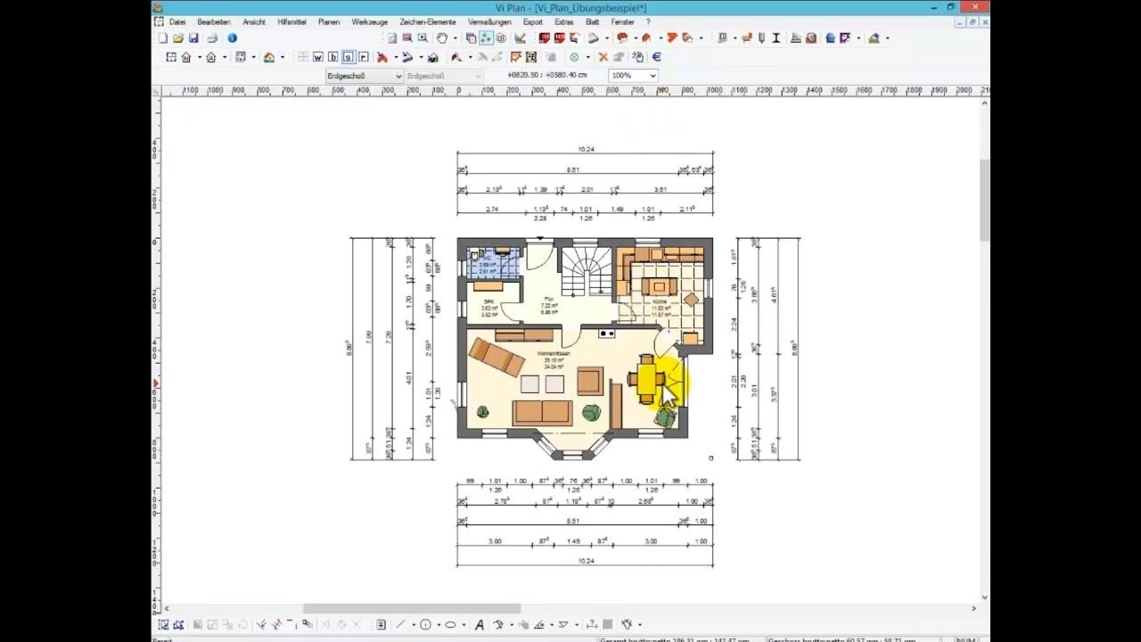 Vi2000 - Vi Plan - Das Übungsbeispiel - YouTube