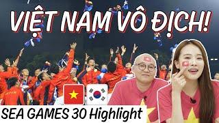 Phản ứng của người Hàn quốc khi việt nam vô địch SEA GAMES 30! | Việt Nam tuyệt vời