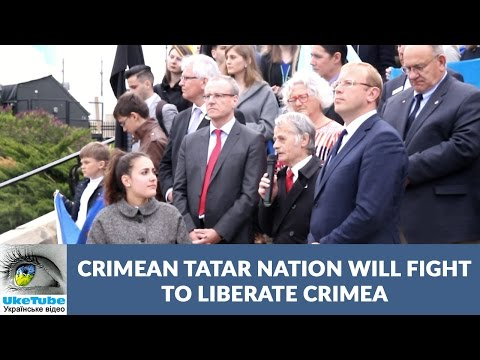 Crimean Tatar nation does not recognize Russian occupation of Crimea, Mustafa Dzhemilev
