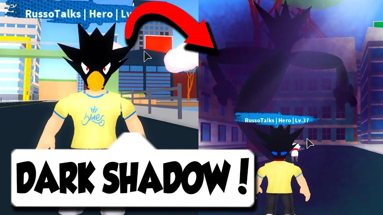 Boku No Hero Academia Roblox Dark Shadow In Brand New My Hero Academia Game Best One Roblox Youtube