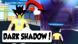 DARK SHADOW IN BRAND NEW MY HERO ACADEMIA GAME!! *BEST ONE* (Roblox)