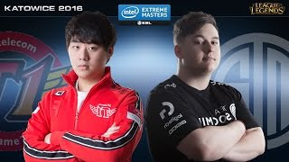 League of Legends - SKT  vs. TSM - IEM Katowice 2016 - Semifinal Map 1