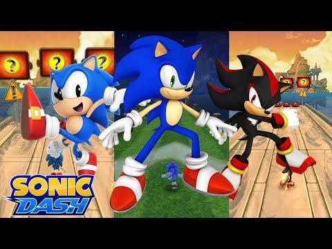 Sonic Dash (iOS) - Sonic vs. Classic Sonic vs. Shadow