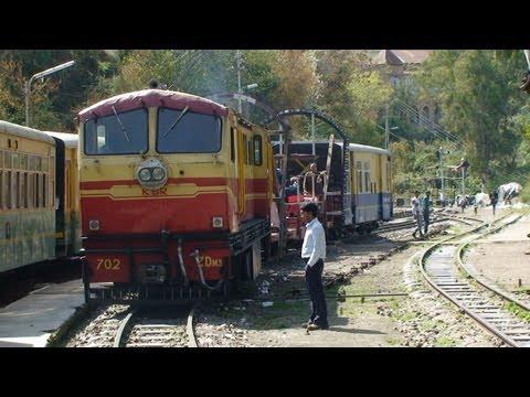Indian Railways - Kalka to Shimla - Drivers eye view at 5 times full speed - Part 2