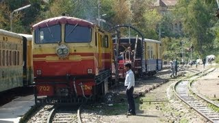 Indian Railways - Kalka to Shimla - Drivers eye view at 5 times full speed - Part 2