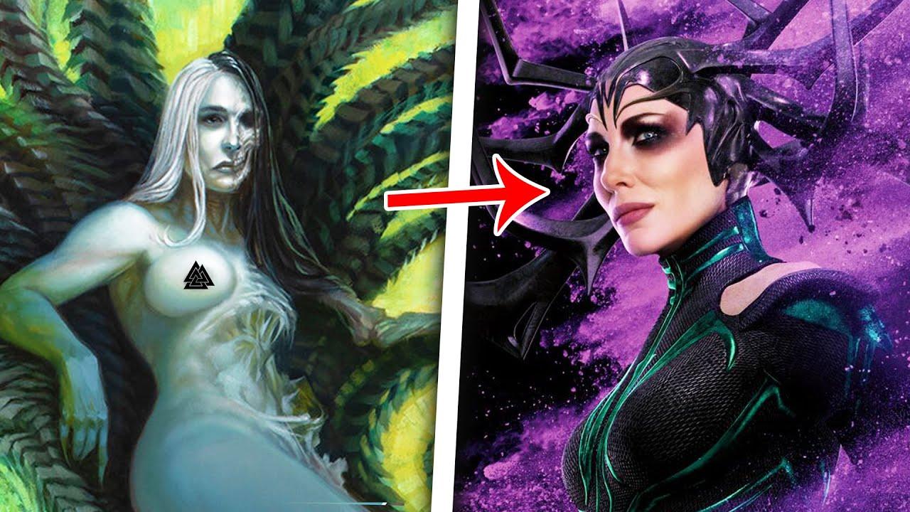The Messed Up Origins of Hela, Goddess of Death   Norse Mythology Explained - Jon Solo