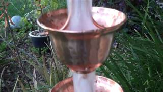 Copper Bells #3124 pure copper rain chain