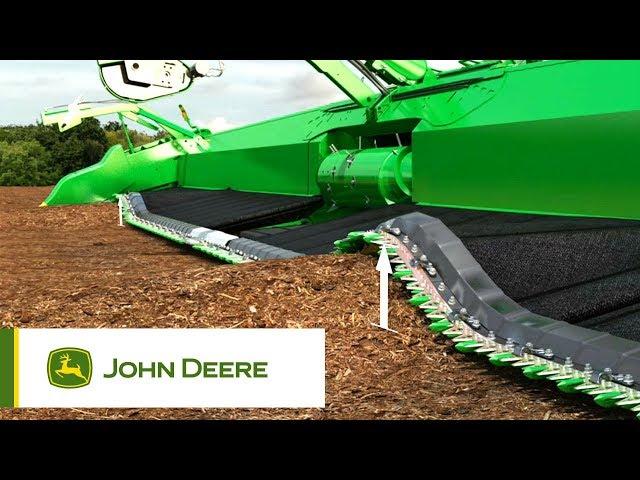 John Deere - Unités de récolte 600FD - Hydraflex