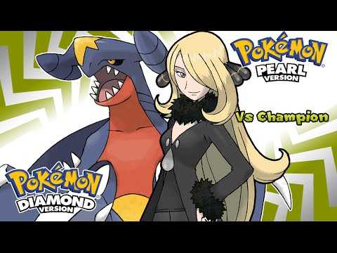 Pokemon Diamond/Pearl/Platinum - Battle! Champion Cynthia Music (HQ)
