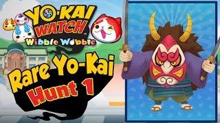 Yo-Kai Watch Wibble Wobble - Rare Yo-Kai Hunt 1! [iOS & Android Gameplay]