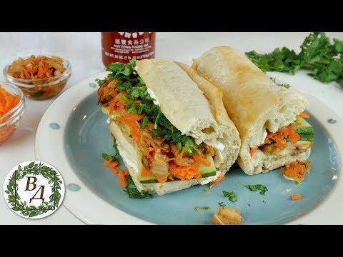 Веган Сэндвич Бан Ми (Очень Популярный в США). Яркий Вкус - Доступные Ингридиенты!