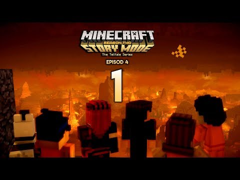 FIRE WORLD. (Minecraft Malaysia) - Minecraft Story Mode Season 2 | Episode 4 | Part 1