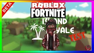 Roblox -🗡Fortnite🔫BR (Island Royale) TESTING
