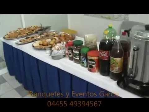 Coffee break, servicio a domicilio. D.F. banquetes buffet