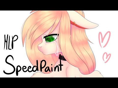 Akari Sakura .:Speedpaint:. (Mlp) Commission