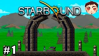 STARBOUND 1.0 Ep. 1 - ¡GRADUACIÓN Y PORTAL MISTERIOSO!  [Duración Extendida]