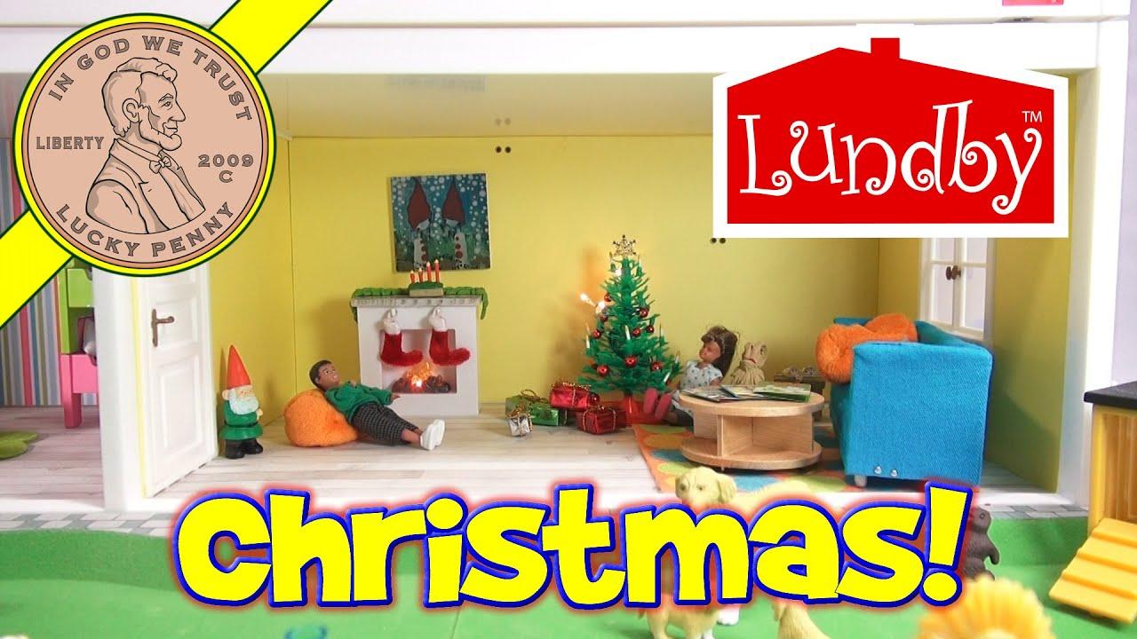 Puppenstuben & -häuser Lundby Premium Dolls House 1:18 Scale Swedish Dolls Play House